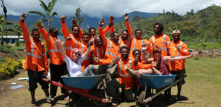 GROWING LOCAL ECONOMIES - CLUB MEMBERS DOING GOOD IN PAPUA NEW GUINEA